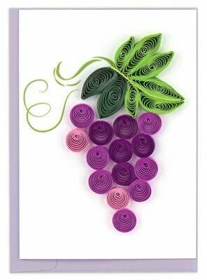 Grapes Enclosure Card