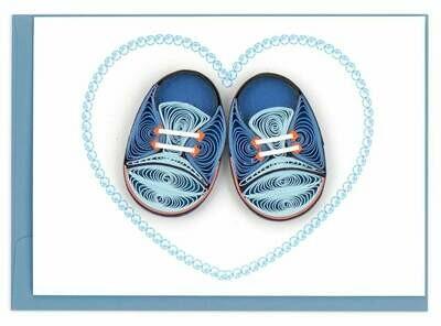 Baby Shoes Enclosure Card