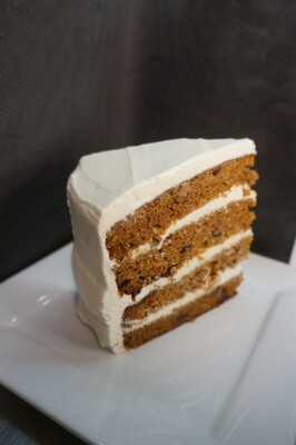 CAKE - Carrot Cake Slice
