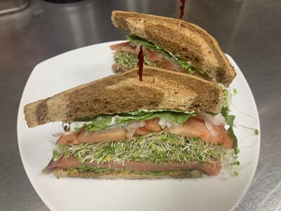 SANDWICHES - Surf-No-Turf Sandwich