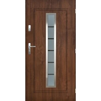 Ulazna vrata FLAMENCO 01 orah
