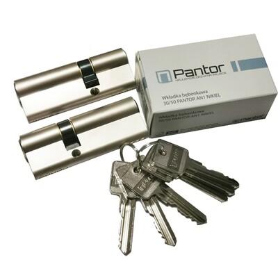 Cilindri Pantor 30/50 u master sustavu jednog ključa