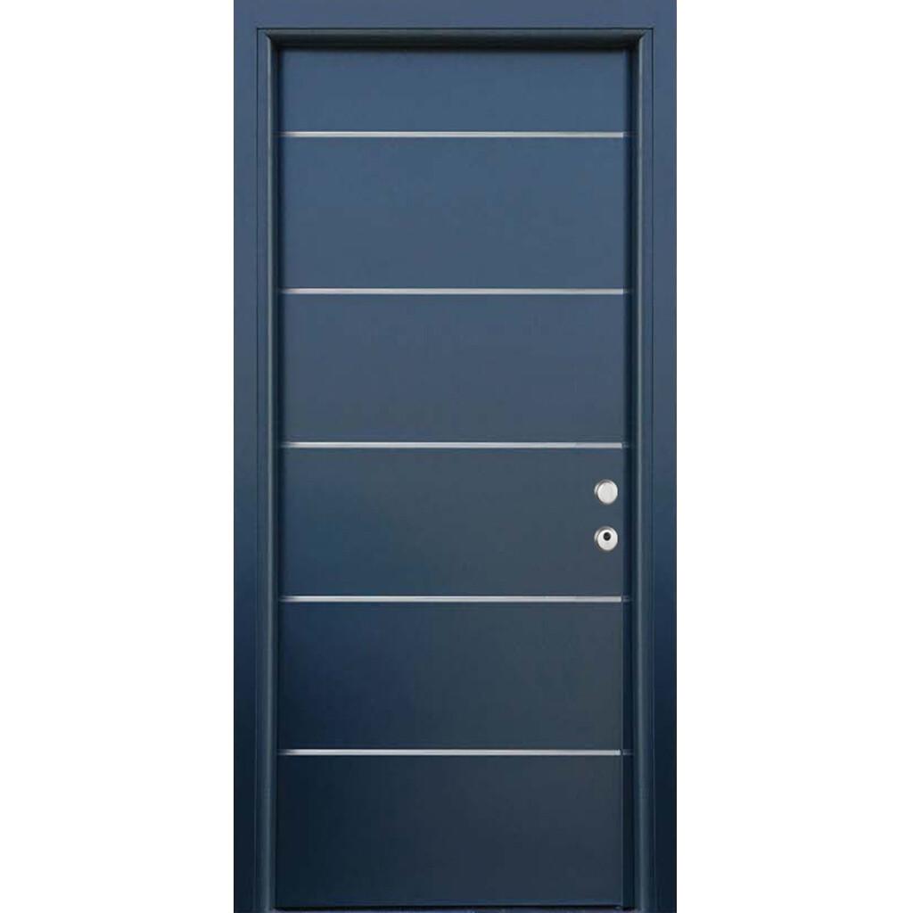 Ulazna protuprovalna vrata INSERT siva RAL 7016