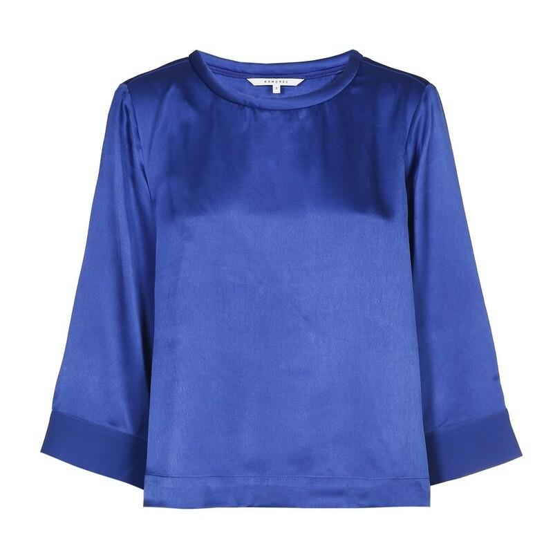 Xandres Chemisier blauw