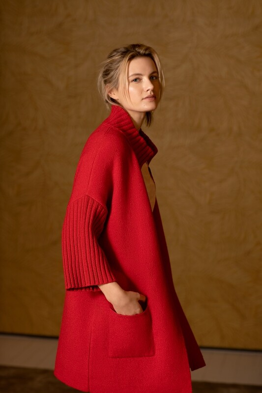 Thelma & Louise gilet rood