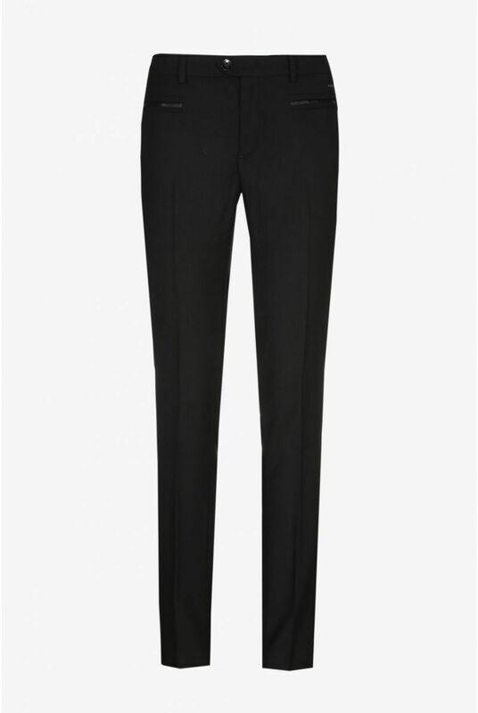 Xandres broek zwart