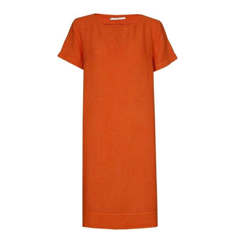 Xandres Gold kleed oranje