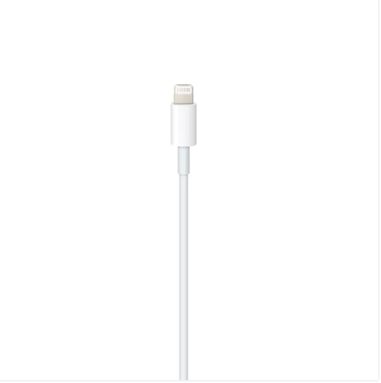 Cable Apple de USB-C a conector Lightning (1m) - Blanco