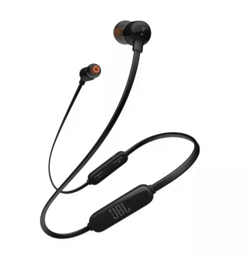 JBL Tune 110 BT, In- Ear Black