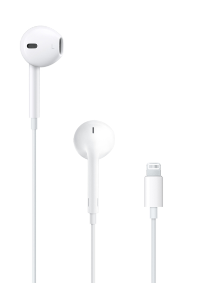 Audífonos EarPods con conector Lightning