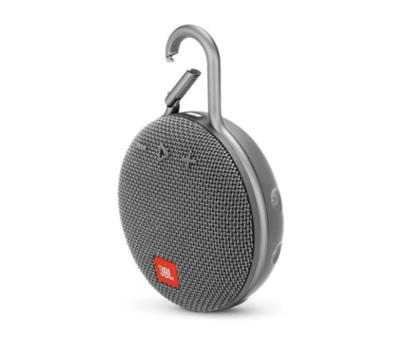 Parlante Bluetooth JBL Clip 3, Color Gris