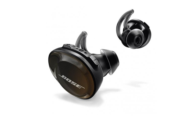 Audífonos Inalámbricos BOSE SoundSport Free, Color Negro