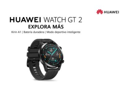 Reloj HUAWEI Watch GT 2 46MM Negro