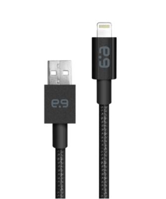 Cable Lightning trenzado de 4 pies a USB-A