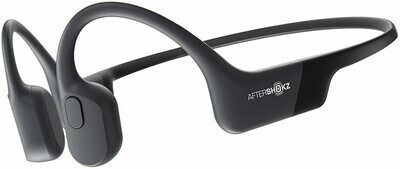 AfterShokz Aeropex - Auriculares de diadema inalámbricos negro (Cosmic Black)