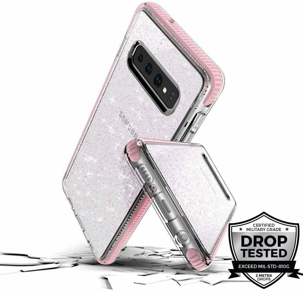 Carcasa Prodigee para Galaxy S10, 2 metros, Color rosa