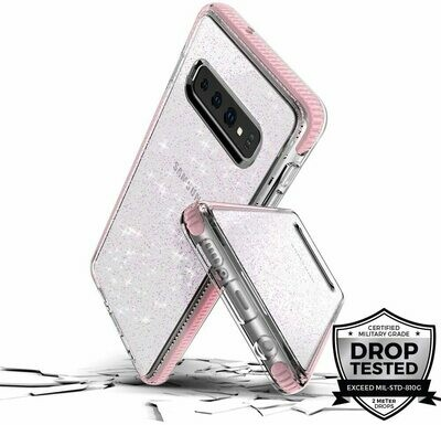 Case Prodigee Super Star para Samsung Galaxy S10, Color Rosa