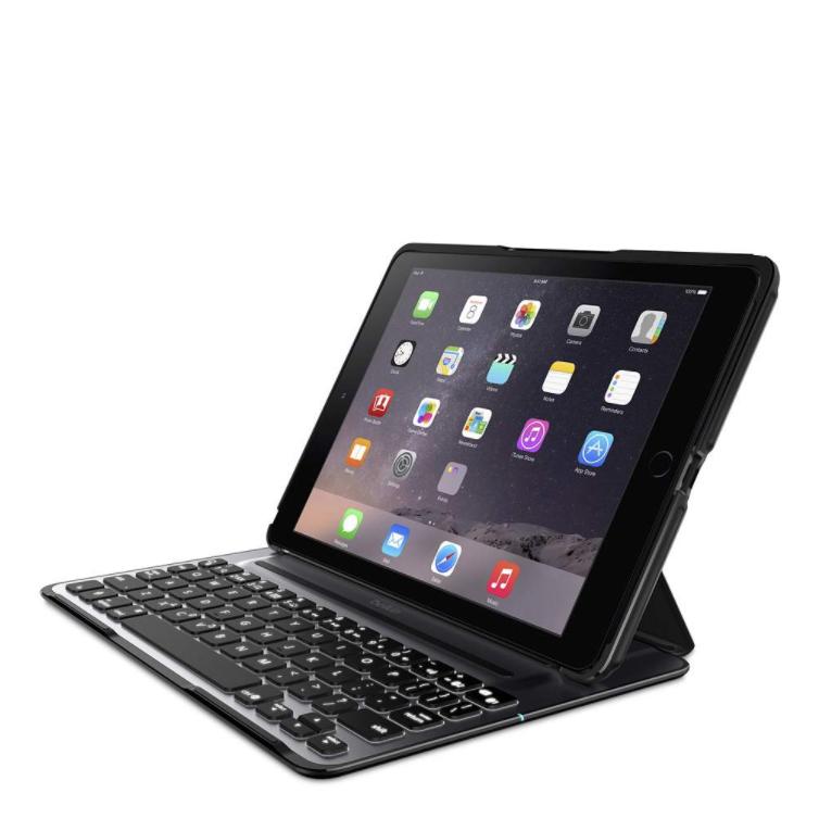 Funda con teclado Belkin QODE Ultimate Lite - iPad, iPad Air de 5ta /6ta generación