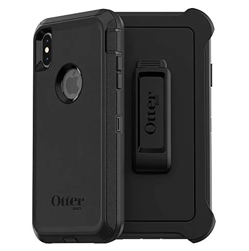 OtterBox Defender - Carcasa para iPhone Xs Max, Color Negro