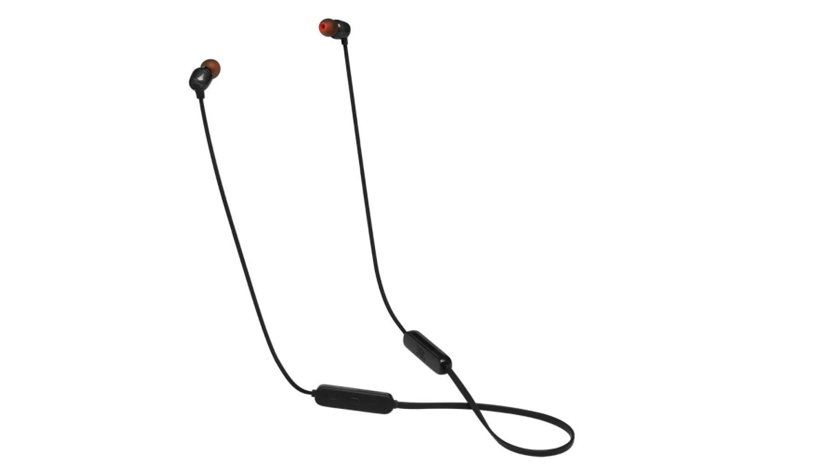 JBL T115BT - Auriculares in-ear inalámbricos con mando a distancia S Negro