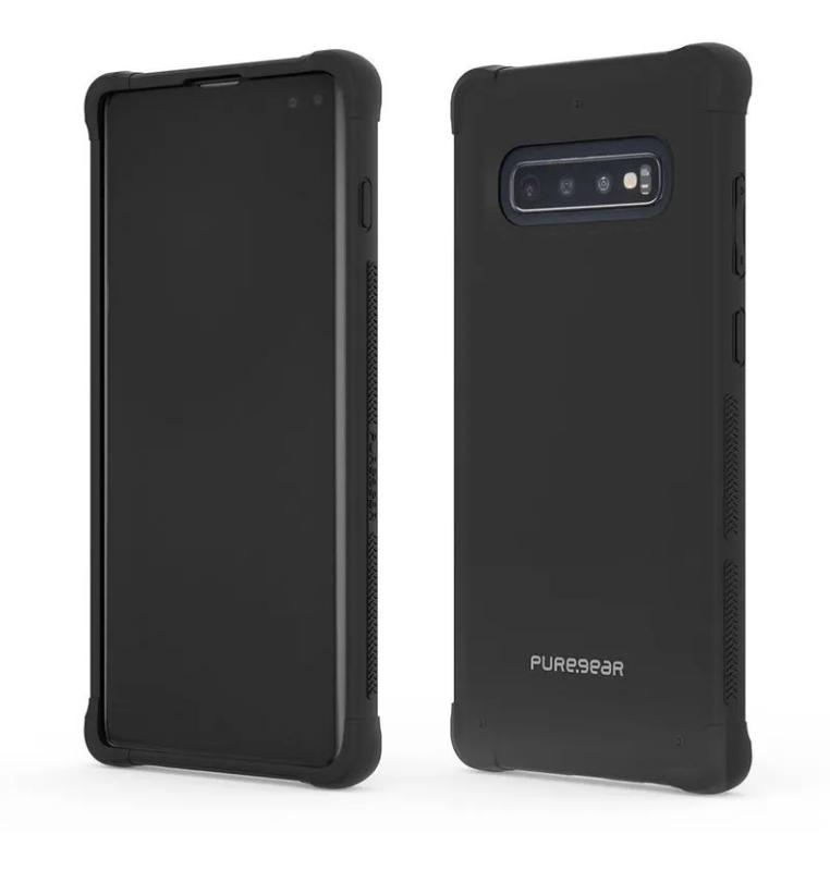 Carcasa Transparente DualTek para Samsung Galaxy S10 - Transparente / Negro
