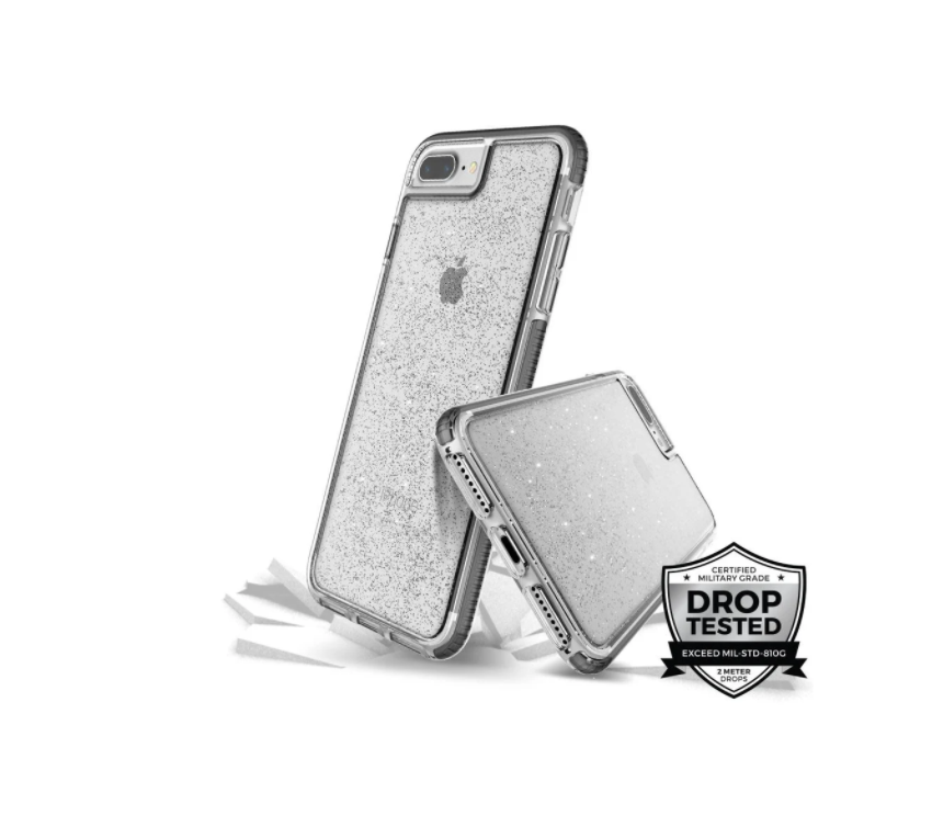 Estuche Para Iphone 7Plus/8Plus Prodigee Super Star - Plateado