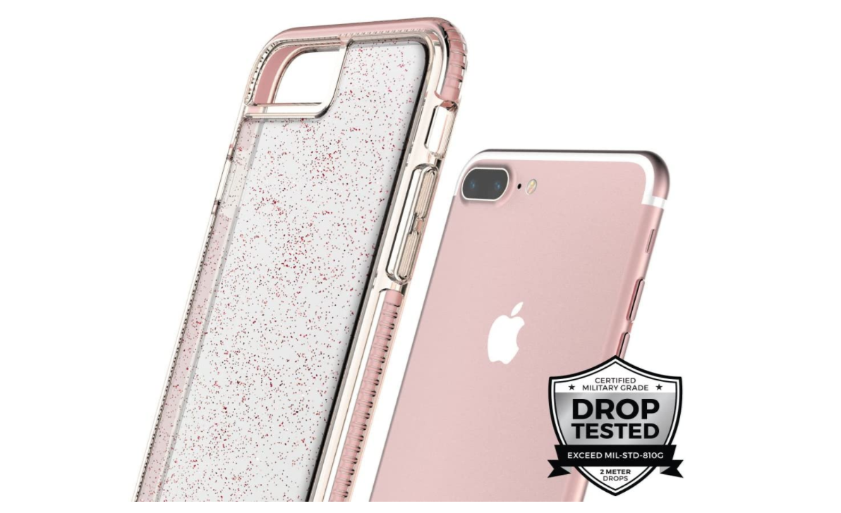 Case  Prodigee Super Star iPhone 7Plus/8Plus  - Rosa