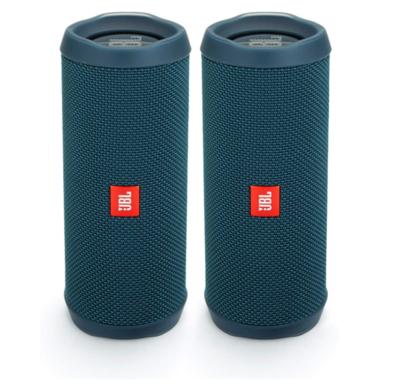 JBL Flip 4 - Bocina Bluetooth portátil a prueba de agua Azul Agua Marina