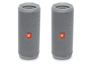 JBL Flip 4 - Bocina Bluetooth portátil a prueba de agua Gris