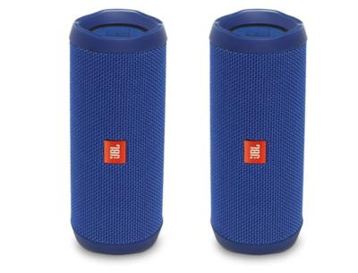 JBL Flip 4 - Bocina Bluetooth portátil a prueba de agua Azul