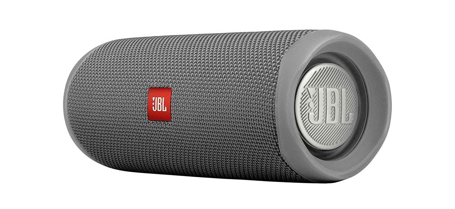 JBL FLIP 5 - Altavoz Bluetooth portátil impermeable, Color Gris