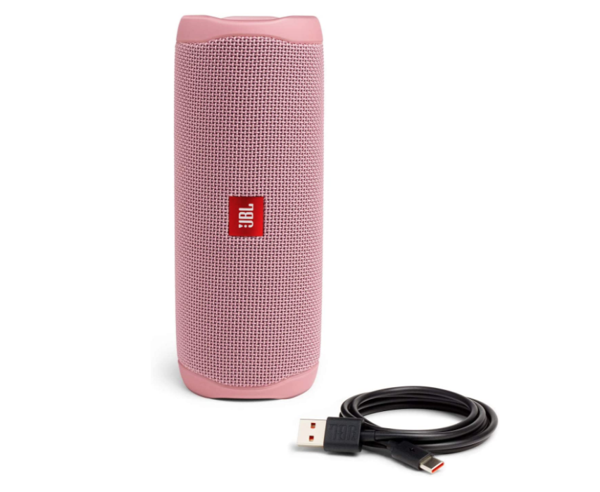 JBL FLIP 5 - Altavoz Bluetooth portátil impermeable, Color Rosa