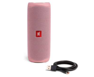 JBL FLIP 5 - Altavoz Bluetooth portátil impermeable, Color Rosa
