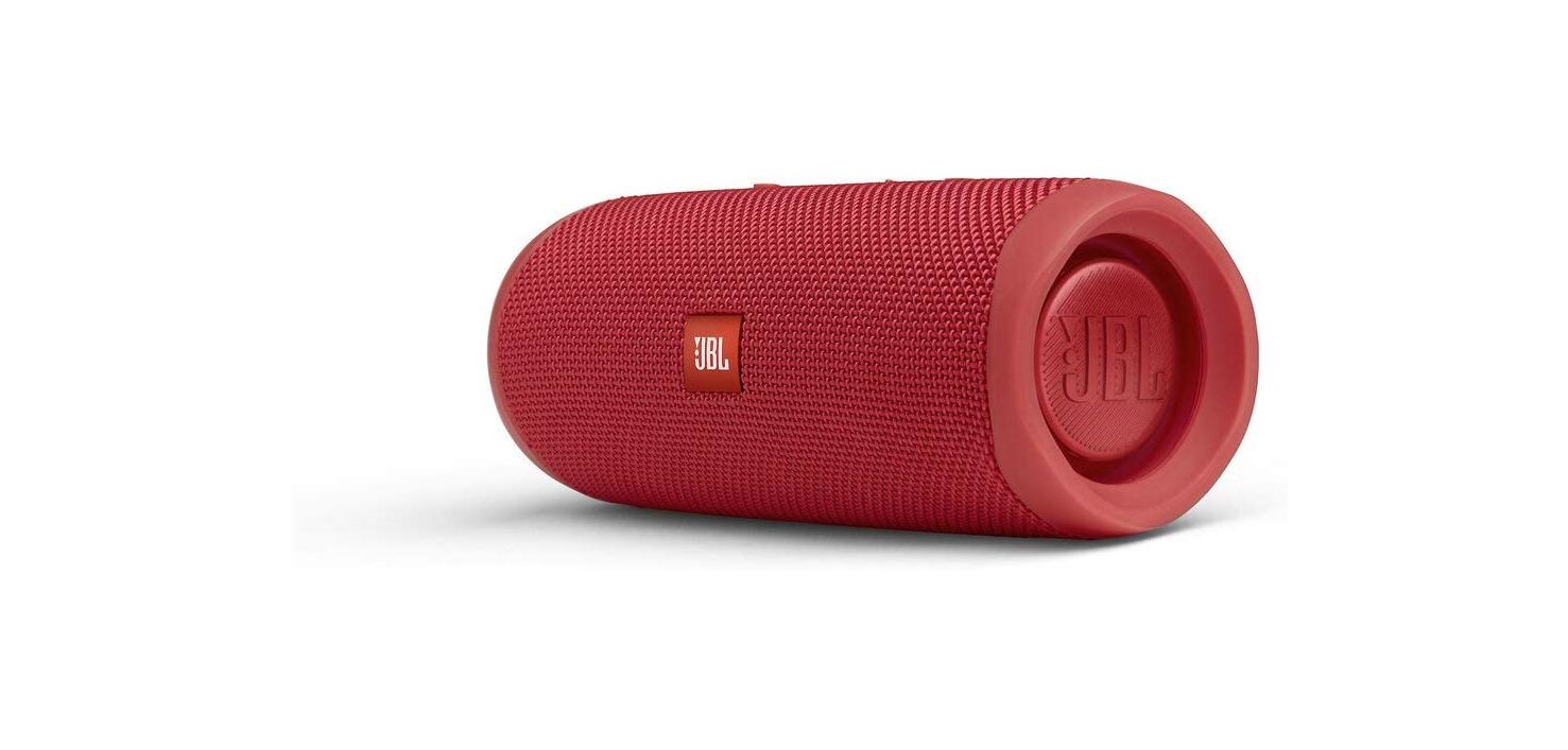 JBL FLIP 5 - Altavoz Bluetooth portátil impermeable, Color Rojo