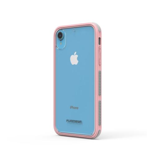 Puregear Dualtek Protector iPhone XR Rosa