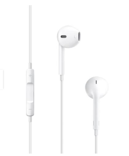 Audífonos Apple EarPods con conector de 3.5 mm