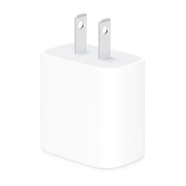 Adaptador de Corriente USB-C 18w, Color Blanco