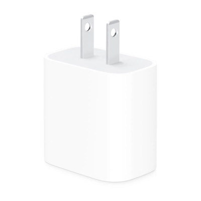 Adaptador de Corriente USB-C 18w, Color Blanco