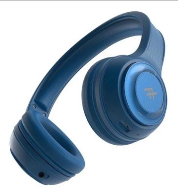 iFrogz Audio Toxix - Auriculares Inalámbricos, Color Azul