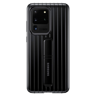 Samsung Galaxy S20 Ultra Case, Rugged Protective Cover - Negro