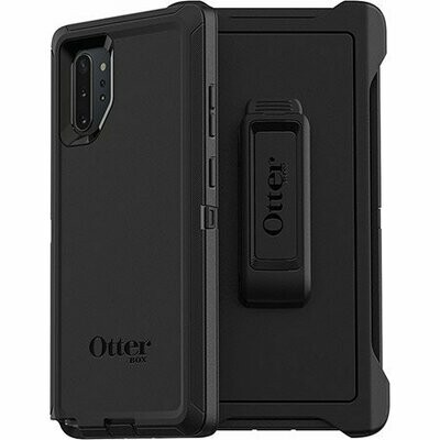 Case Otter Box Galaxy Note10+ Defender Series, Color Negro