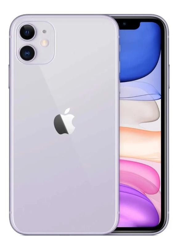 iPhone 11, Capacidad de 64 GB, Color: Purple