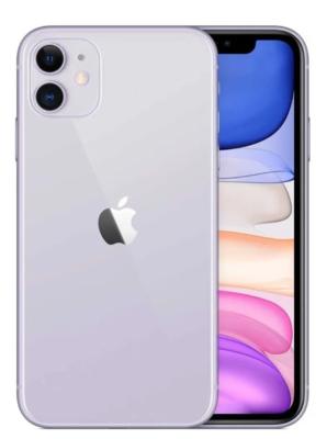 iPhone 11, Capacidad de 128 GB, Color: Purple