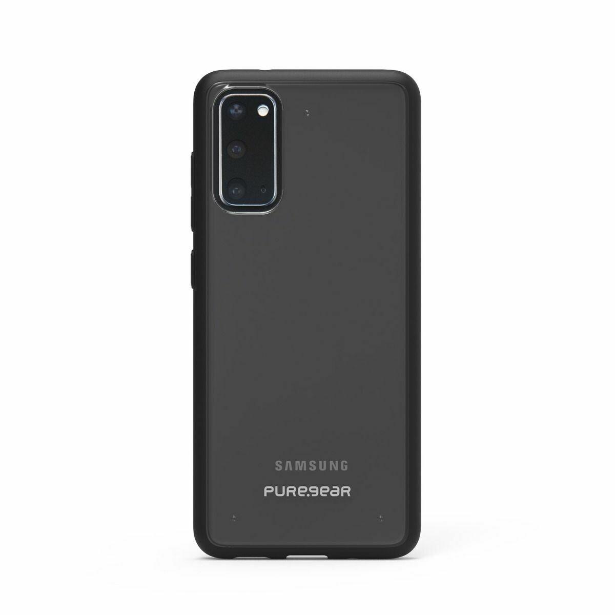 Samsung Galaxy S20 Slim Shell Case - Clear/Black