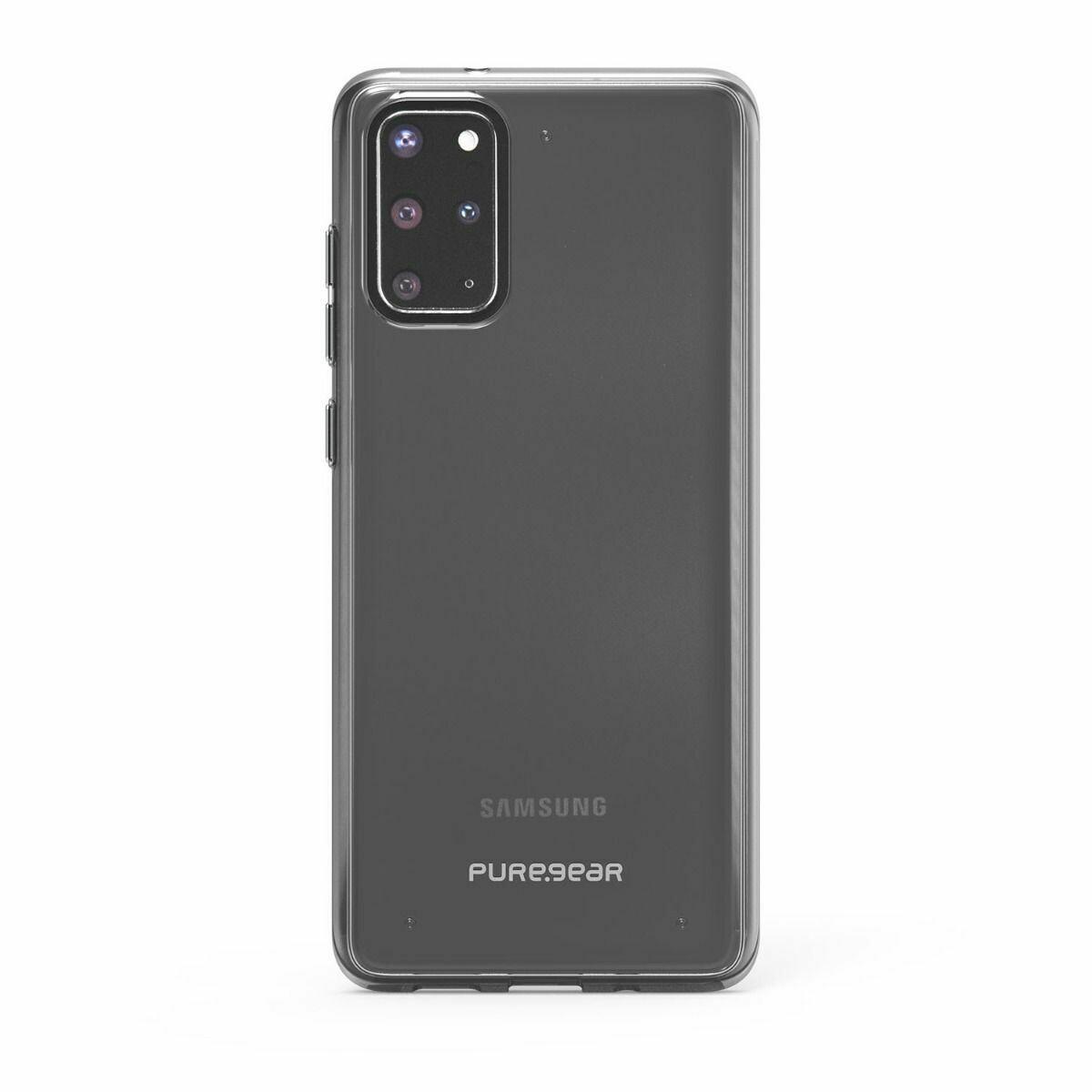 Samsung Galaxy S20+ Slim Shell Puregear Case - Clear/Black
