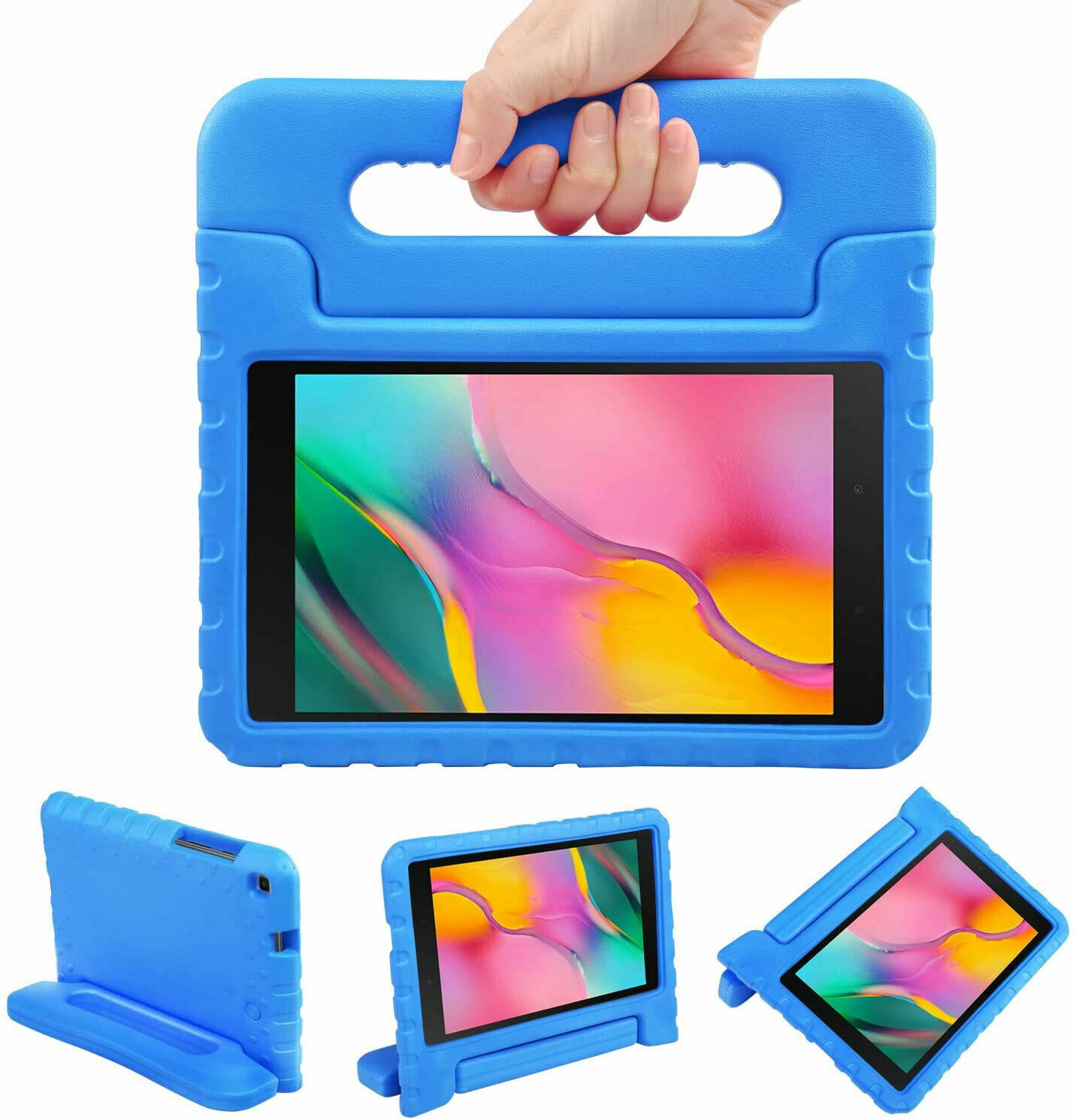 Funda LEADSTAR para Samsung Galaxy Tab A 8.0 2019, Color Azul