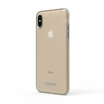Slim Shell Case Puregear iPhone XS Max  -Color Clear/Clear