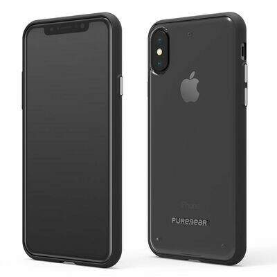Puregear  iPhone Xs/X Cases Slim Shell - Color:  Clear/Black