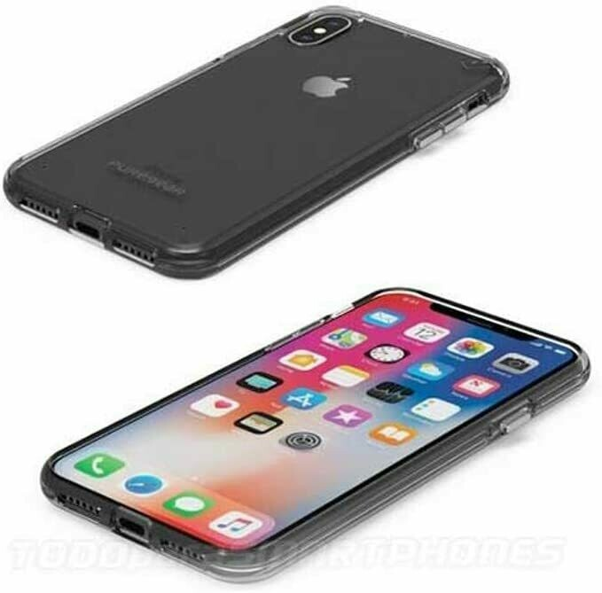 Apple iPhone XsX Slim Shell Case - Clear - Clear