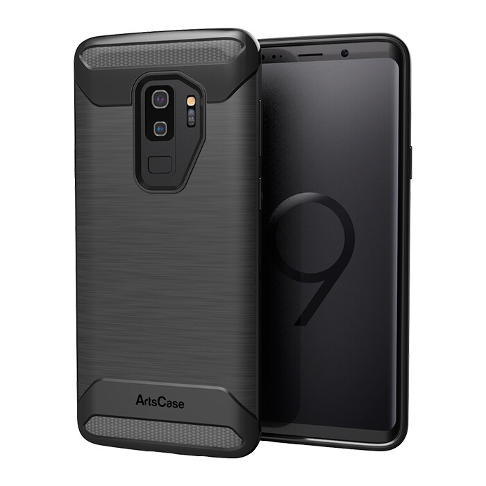 Rugged Impact Black  Samsung Galaxy S9 plus, Color Negro